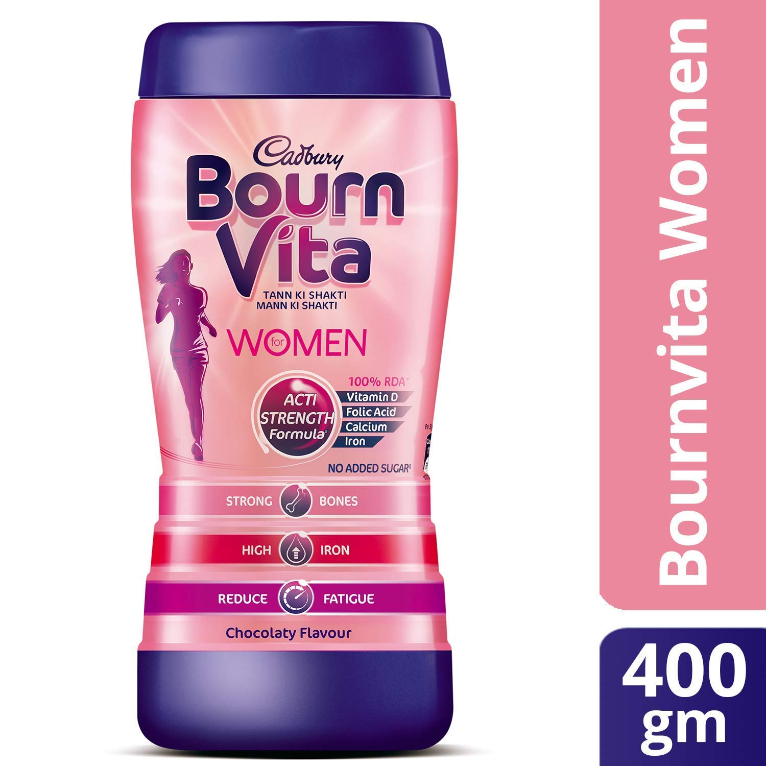 Bournvita Women Health Drink Jar 400gm