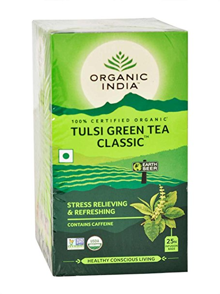 Organic India Tulsi Green Tea 25N