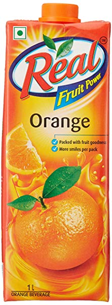 Real Orange Juice 1L