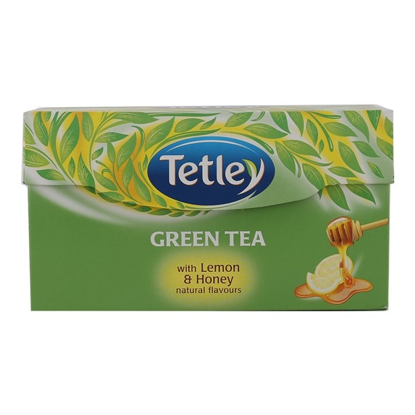 Tetley Green Tea Bags (Honey Lemon) 25N