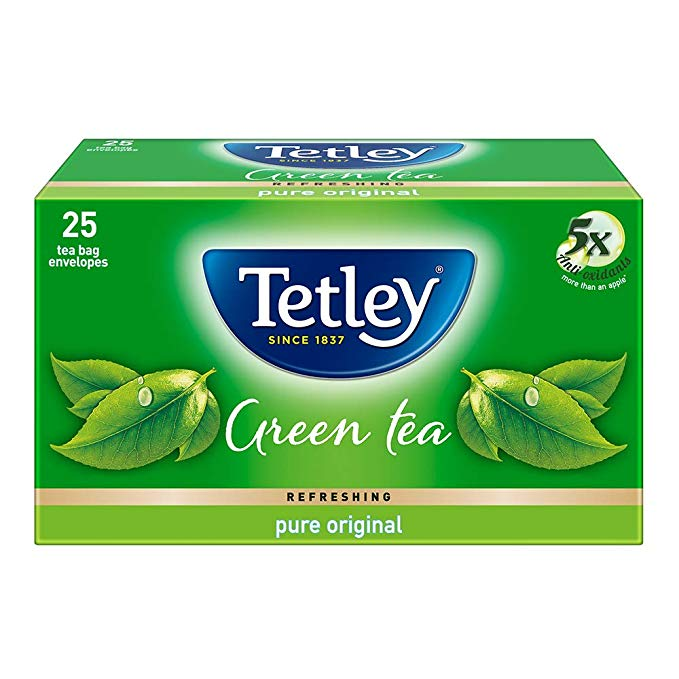 Tetley Green Tea Bag 25N (Regular)