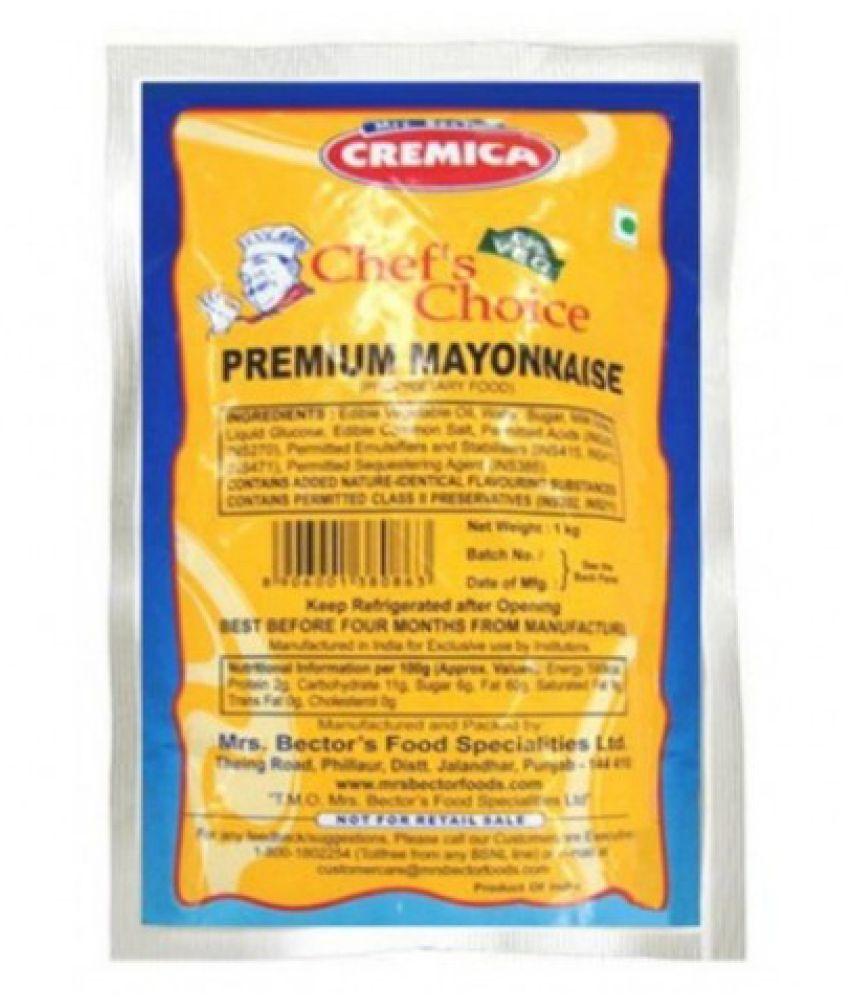Cremica Mayonnaise 1kg