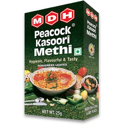 MDH peacock Kasoori Methi 25gm