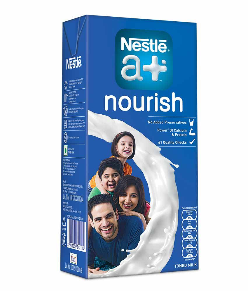 Nestle A+ Nourish Tetra Pack 1lt