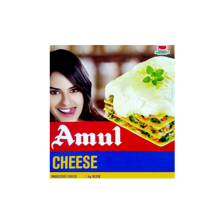 Amul Processed cheese Block 1kg