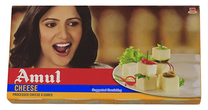 Amul Processed Cheese Cubes 200gm