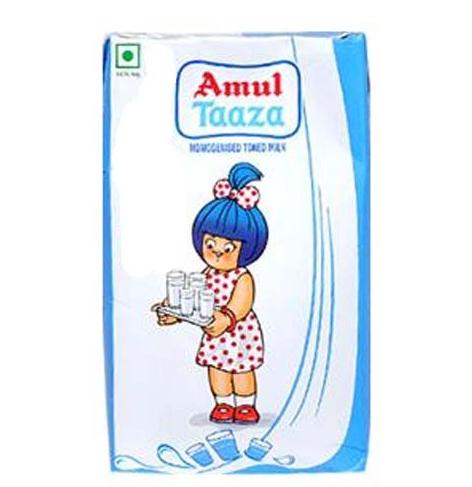 Amul Taaza Toned Milk 1lt