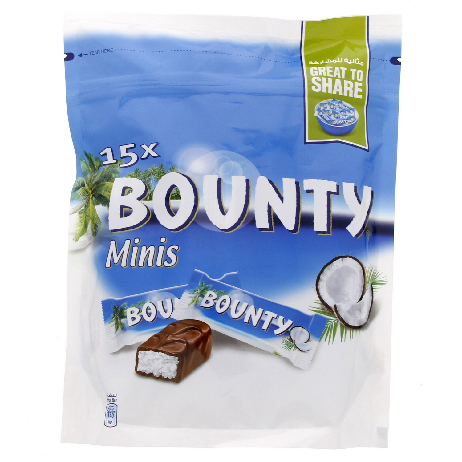 Bounty Coconut Chocolate Miniatures