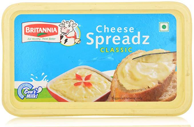 Britannia Cheese Spread Plain 180gm