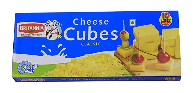 Britannia Processed Cheese Cubes 200gm