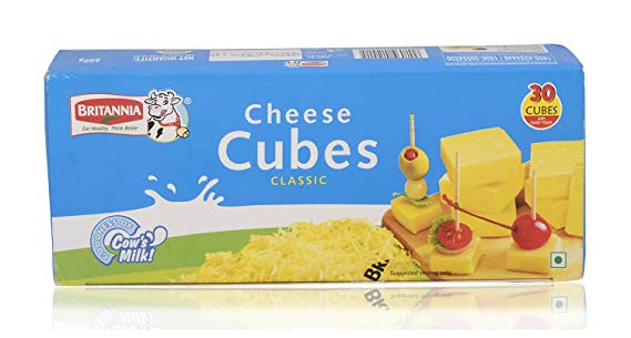Britannia Cheese Cubes 600gm
