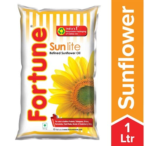 Fortune Sunflower Oil 1l
