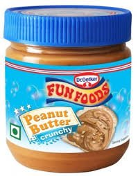 Funfood Peanut Butter Crunchy 1kg