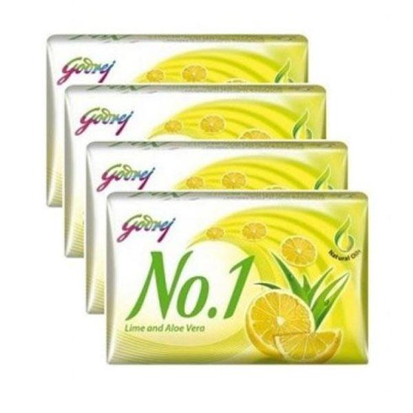 Godrej No 1 Lime Set 4X100gm