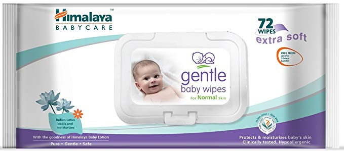 Himalaya Baby Wipes 72's