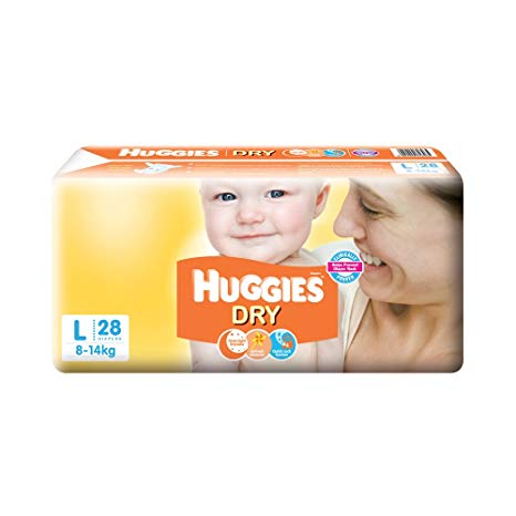 Huggies Large 28p