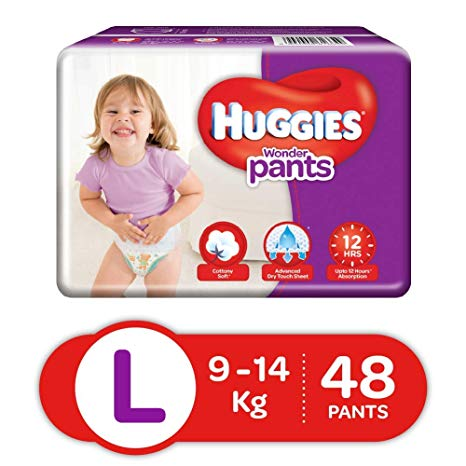 Huggies Wonder Pants Large 48p
