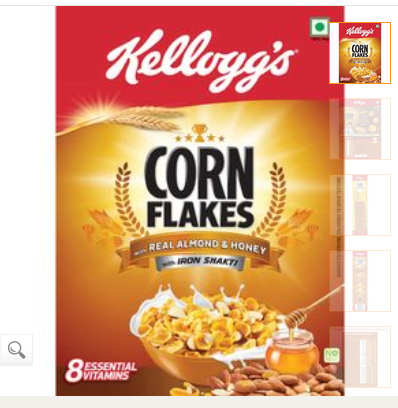 Kellogs Cornflakes Almond 300gm