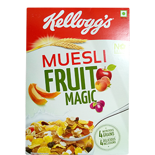 Kelloggs Muesli Fruit Magic 550gm