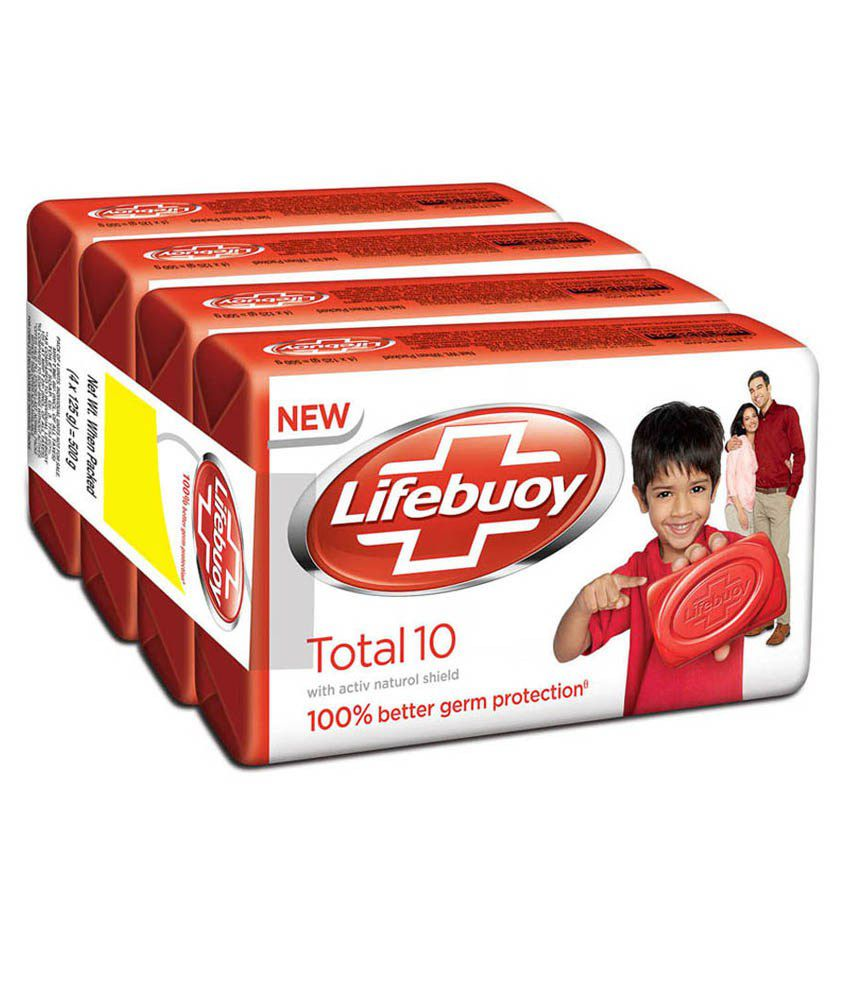 LIfebuoy Total Set 4X100gm