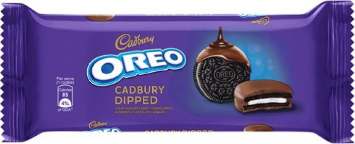 Cadbury Oreo Cookies Dipped 50g