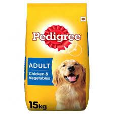 Pedigree Adult Dog Food Chicken and Veg 15Kg
