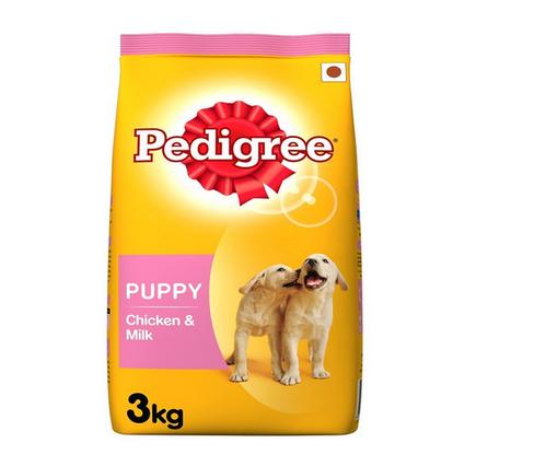 Pedigree Puppy Food Chicken and Milk 3kg