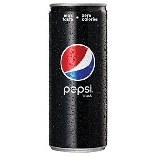Pepsi Black Can 250ml