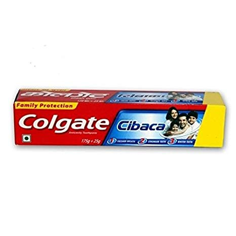 Colgate Cibaca Toothpaste 175gm+175gm