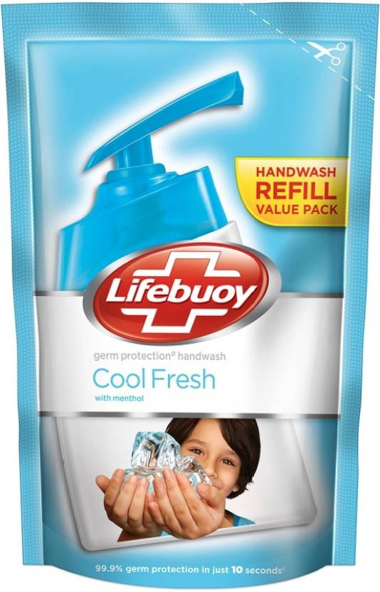 Lifebuoy Handwash Cool Refill 185ml