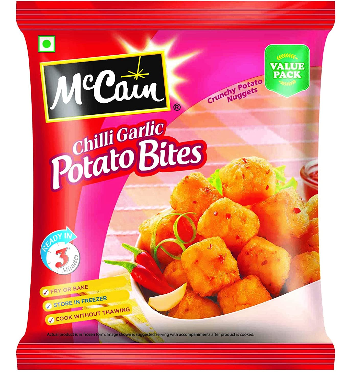 McCain Garlic Potato Bites 400gm
