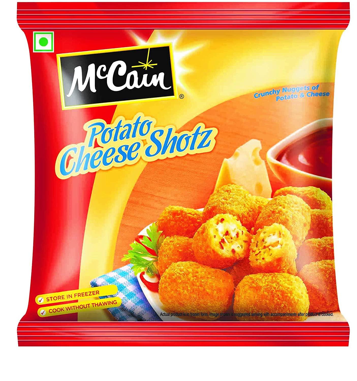 McCain Potato Cheese Shots 400gm